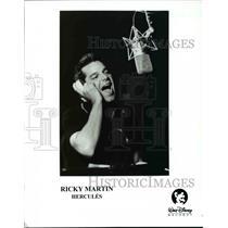 Press Photo Ricky Martin in Hercules - cvp45316