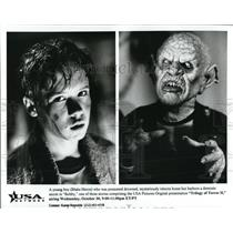 Undated Press Photo Blake Heron Trilogy Of Terror II