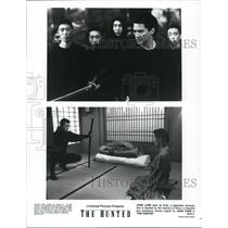 1995 Press Photo John Lone and Joan Chen star in The Hunted - cvp58355