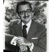 1982 Press Photo Jan Peerce Tenor Soloist Opera Singer - cvp49826