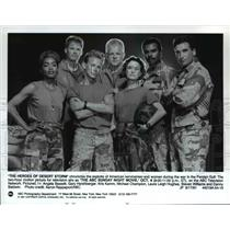 1991 Press Photo The Heroes of Desert Storm - cvp56118
