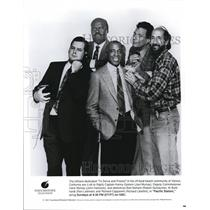 1991 Press Photo The Cast of Pacific Station - cvp72693