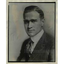 1920 Press Photo Harry E. Blythe,Head of Goodyear Industrial Universtiy