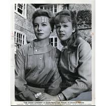 1964 Press Photo Deborah Kerr & Hayley Mills in The Chalk Garden