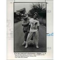 1990 Press Photo Fashions - cva60877