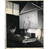 1924 Press Photo Westinghouse lab, Endogas toughens metals for war equipment