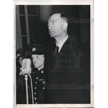 1945 Press Photo Netherlands Anton Russert of Dutch German movement - nee02159