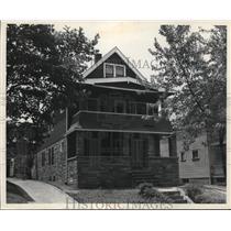 1943 Press Photo Home of Way Paulik - nee01695