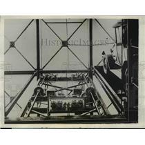 1928 Press Photo Underground Garage to Built in Paris