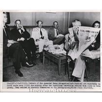 1952 Press Photo Chicago Tex delegates at Republican Convention - nee02835
