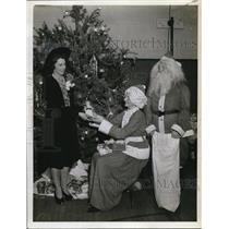 1941 Press Photo Mrs Alleam Zamecnik, Mrs Albert Slama, Mrs Frank Salner