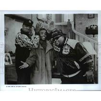 1992 Press Photo Ed Lover, Larenz Tate, Doctore Dre in The Royal Family