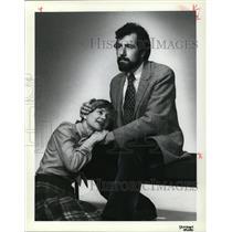 1981 Press Photo Mary Jane Nottage & Jim Muth