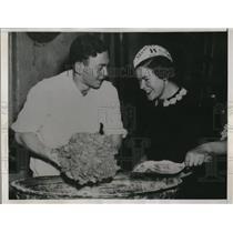 1938 Press Photo Solly Rothschild, Adolf and Gerda Lifschitz