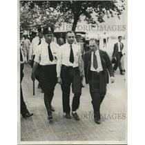 1932 Press Photo Miles Znamenacek quelling army riots