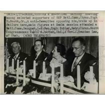 1949 Press Photo of supporters of the GOP National Committee. - nee03801