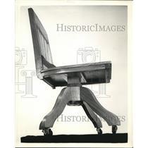 1942 Press Photo Swivel Chair - nee02316