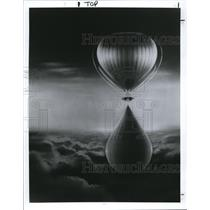 1992 Press Photo Earthwinds hot air balloons