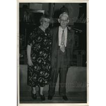 1953 Press Photo Mr. Mrs. Frank Ketchum La Grange, Ohio - nee01949