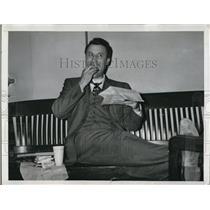 1947 Press Photo Wash Dc Sen Glen  H Taylor D of Idaho
