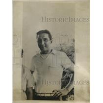 1936 Press Photo John Sprosty