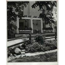 1977 Press Photo Window Boxes at the home of Mr and Mrs Frank Mucklo