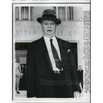 1960 Press Photo Wash Dc Federal Judge Joseph Jackson on patent appeals