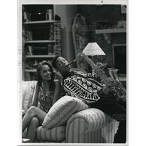 Press Photo Jeanine Michelle and Will Smith in The Fresh Prince of Bel-Air