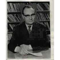 1969 Press Photo The Hague Czech communist party leader Alex Dubcek