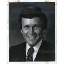1981 Press Photo News Anchor Dave Patterson