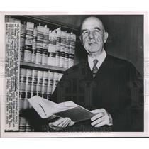 1951 Press Photo Judge T. Alan Goldsborough - nee02828