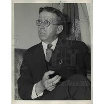 1938 Press Photo Philip Bancrof at GOP in California - nee03302