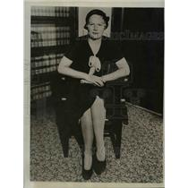 1932 Press Photo Barbara Pierce Actress Known as Joyce Marvin in Court