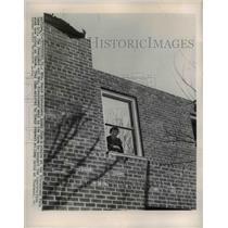 1954 Press Photo Mamie Eisenhower at the Eisenhower Farm