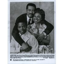 1992 Press Photo Dick Anthony Williams, Hattie Winston & Gloria Davis in Home Fr