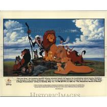 Undated Press Photo The Lion King