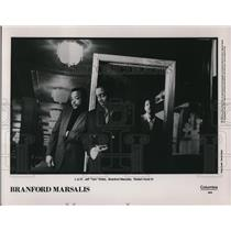 Undated Press Photo Branford Marsalis Jeff Train Watts Robert Hurst