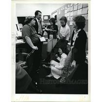 1979 Press Photo Program Morning Exchange - cvp51202