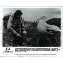 1992 Press Photo TV Programs Antarctica - cvp55883