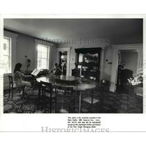 1988 Press Photo Music students at the Wallace House in Cuyahoga Valley
