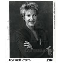 1993 Press Photo Bobbie Battista CNN News - cvp43646