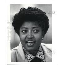 1991 Press Photo Norma Washington LEAP Social Worker