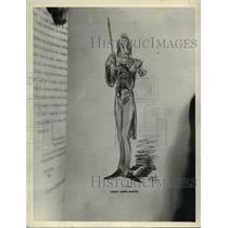 1933 Press Photo Drawing by Dore - cva61560