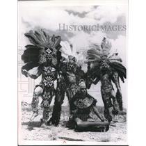 1969 Press Photo Indian Dancers