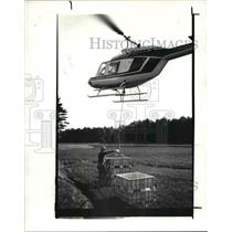 1988 Press Photo Helicopters