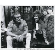 1978 Press Photo Mel Witt and Wife