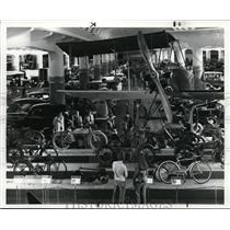 1983 Press Photo Transportation Section at the Henry Ford Museum in Dearborn
