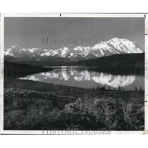 1982 Press Photo The majestic Mt. McKinley, tallest mountain in North America