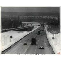 1978 Press Photo Highway I-480 Interstate 480 (Outer Belt South) from Broadway