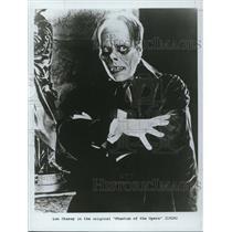 1984 Press Photo Lon Chaney in Phantom of the Opera 1926 - cvp50447
